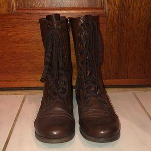 Woman's Combat Boots